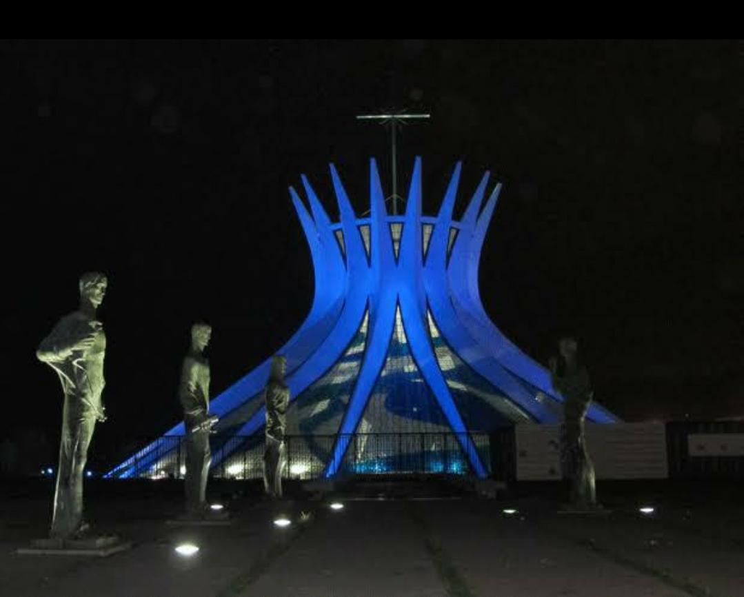 Pontos turísticos em Brasília | Azul pelo Diabetes!