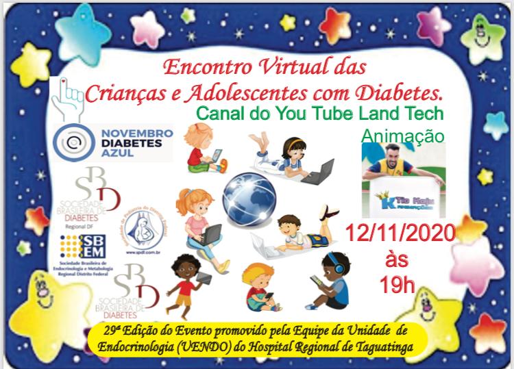 29ª Festa das Crianças e Adolescentes com Diabetes